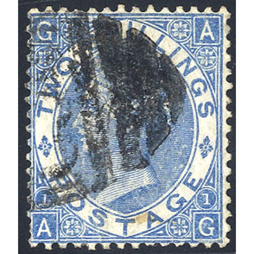 1867-80, 2 s. plate 1, Unif. 38 SG 118