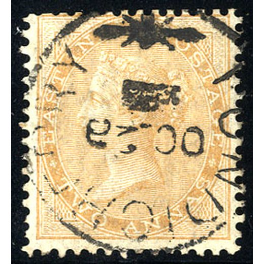 1856, 2 a. yellow-buff SG 42 / 40,-