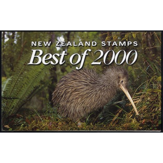 2001, Best of 2000, 3 sheets, Mi. Bl 121-123 / 36,-